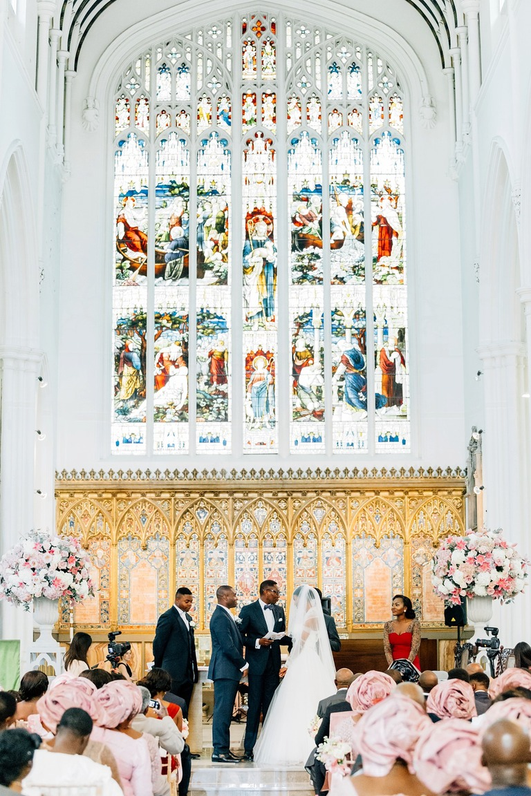 Church Wedding Cermony in London