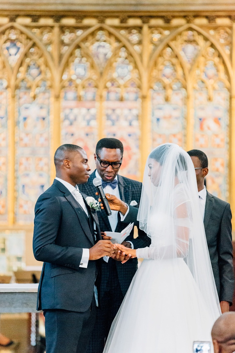 African Wedding at the Church in London