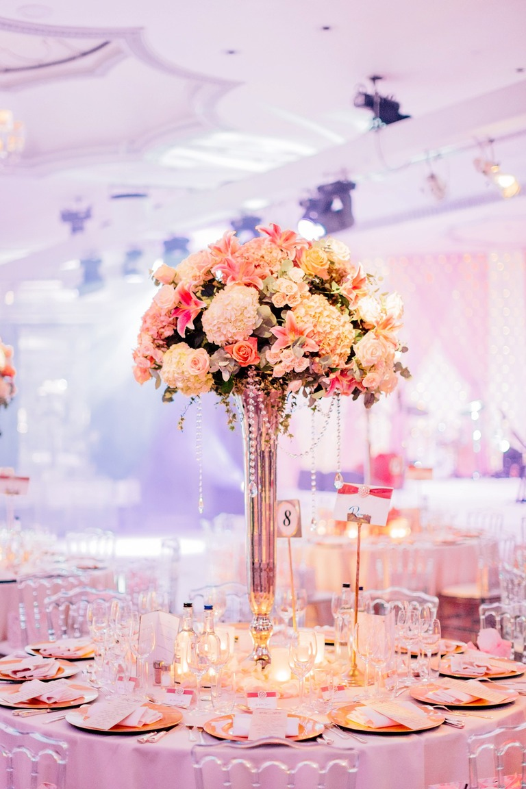 Wedding Decoration at the Dorchester Hotel in London