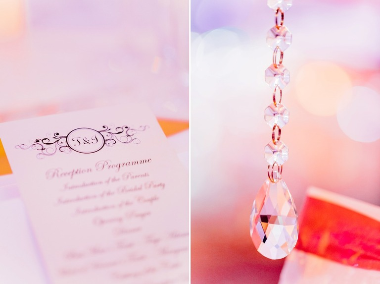 Wedding Stationery Details at the Dorchester Hotel