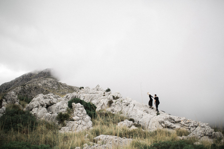 engagement shoot in Majorca